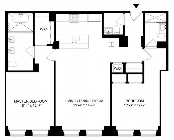 93 Worth Street 605, Tribeca/SOHO/Chinatown, NYC, $2,525,000, Web #: 18642860
