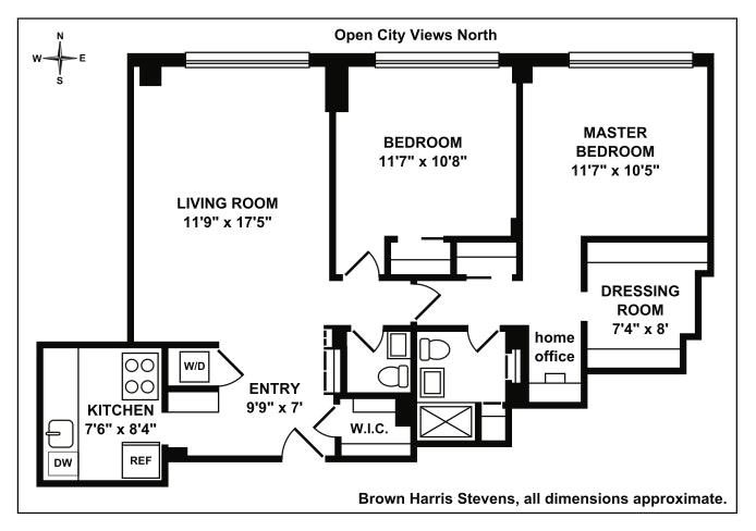 250 East 31st Street 8B, Midtown East, NYC, $1,080,000, Web #: 18648182