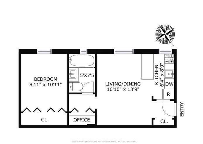59 Pineapple Street 2L, Brooklyn, New York, $477,500, Web #: 18668615