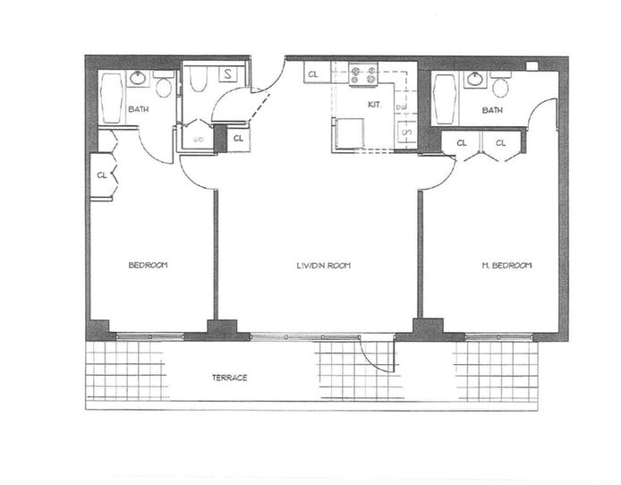 116 Central Park S 3B, Midtown West, NYC, $6,300, Web #: 18669197