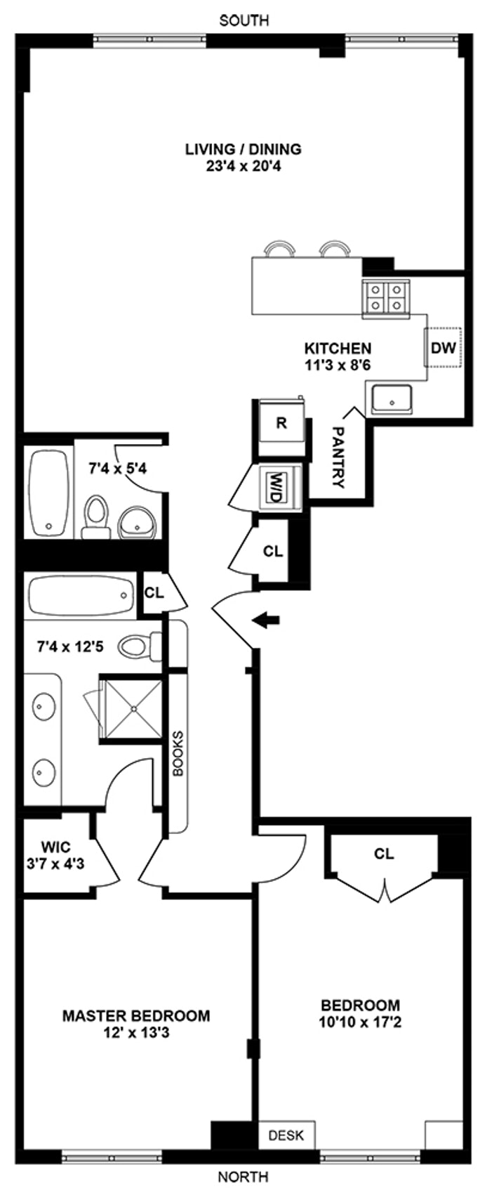 939 Union Street 5B, Park Slope, New York, $1,525,000, Web #: 18687230