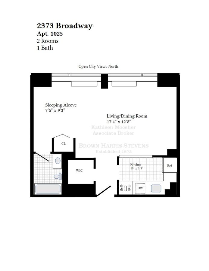 2373 Broadway 1025, Upper West Side, NYC, $675,000, Web #: 18696870