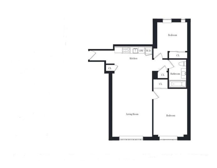 25 Monroe Place 1A, Brooklyn, New York, $4,850, Web #: 18702356