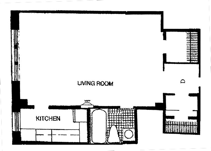 2 Horatio Street 16D, West Village, NYC, $3,450, Web #: 18711826