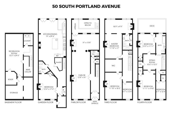 50 South Portland Avenue, Fort Greene, New York, $5,500,000, Web #: 18753385