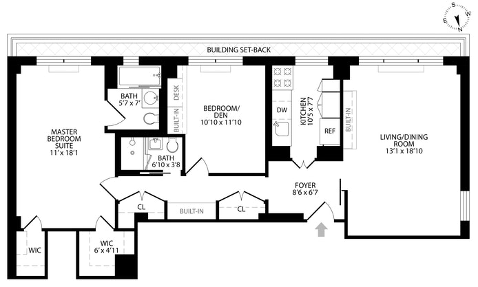 520 East 72nd Street Phc, Upper East Side, NYC, $1,200,000, Web #: 18753419