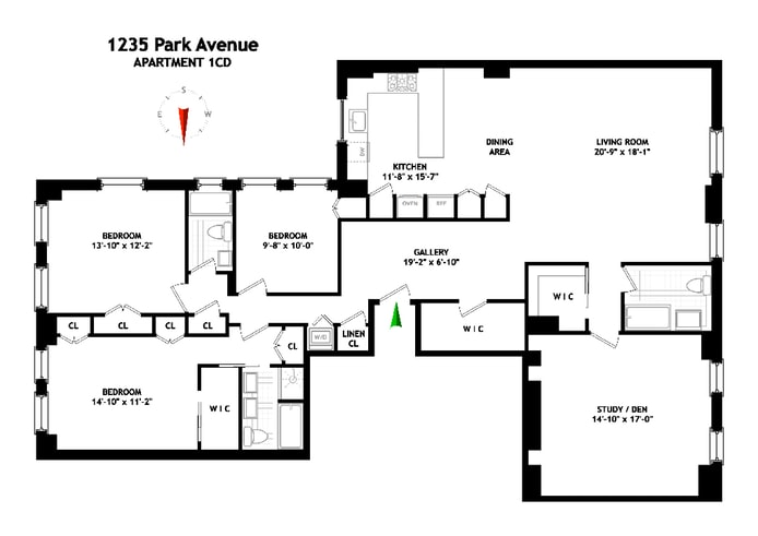 1235 Park Avenue 1Cd, Upper East Side, NYC, $12,500, Web #: 18770577