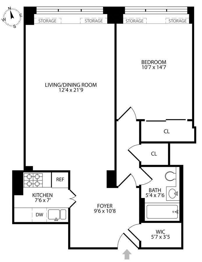 20 East 68th Street 11B, Upper East Side, NYC, $4,200, Web #: 18789204