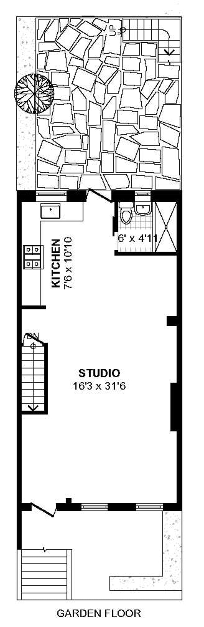 36 Monroe Street 1, Brooklyn, New York, $1,950, Web #: 18810501