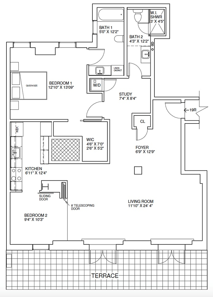 25 Central Park West 19R, Upper West Side, NYC, $11,000, Web #: 18812577