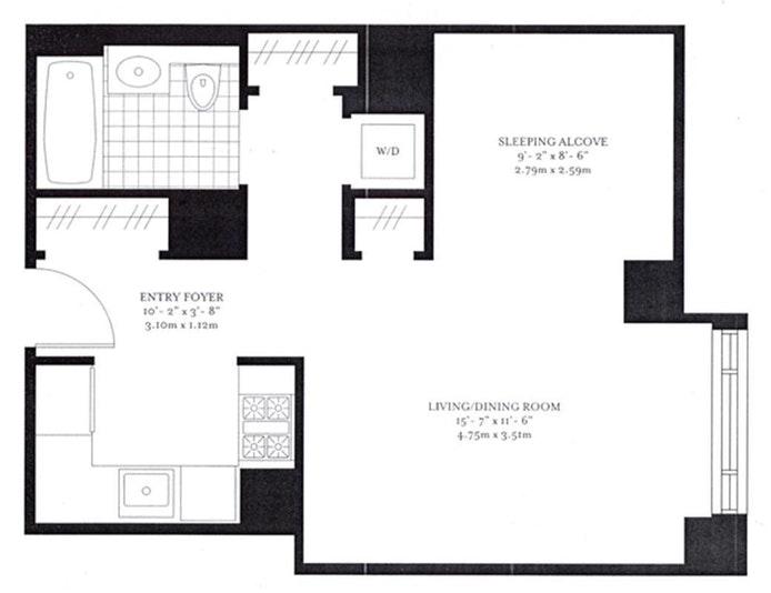 205 East 85th Street 12M, Upper East Side, NYC, $3,195, Web #: 18834977