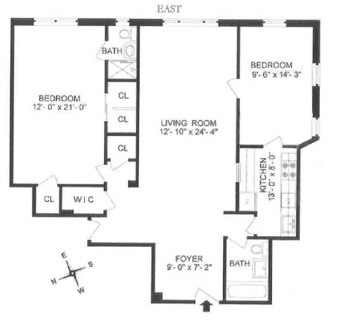 3299 Cambridge Avenue 6E, Bronx, New York, $295,000, Web #: 18878150