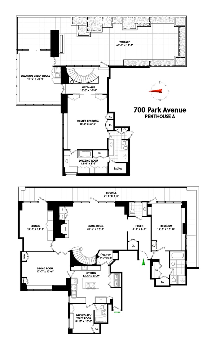 700 Park Avenue Pha, Upper East Side, NYC, $4,500,000, Web #: 18879468