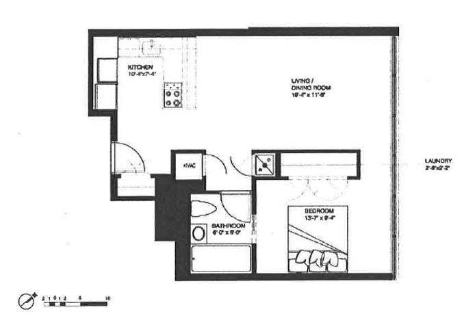 162 North 12th Street 4D, Williamsburg N Side, New York, $835,000, Web #: 18891853