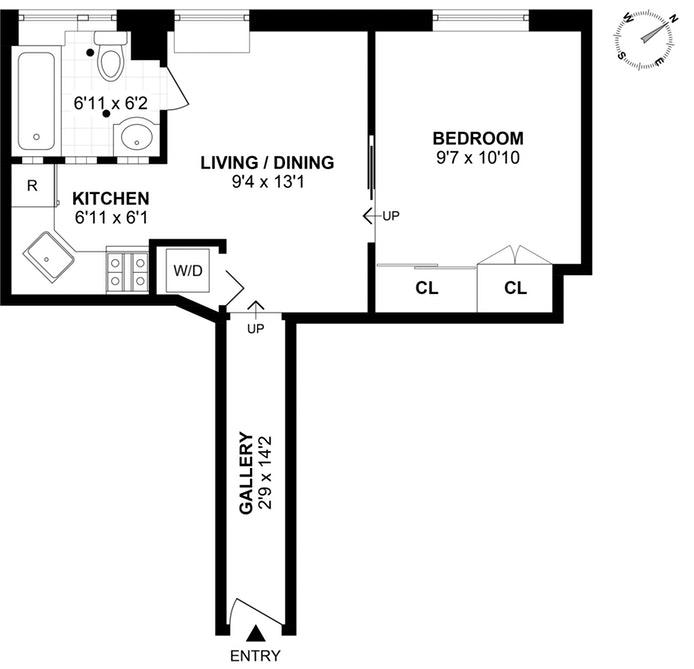 237 Eldridge Street, Lower East Side, NYC, $460,000, Web #: 18917611