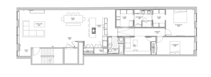 45 Crosby Street 5N, Greenwich Village/NOHO/Little Italy, NYC, $3,940,000, Web #: 18964810