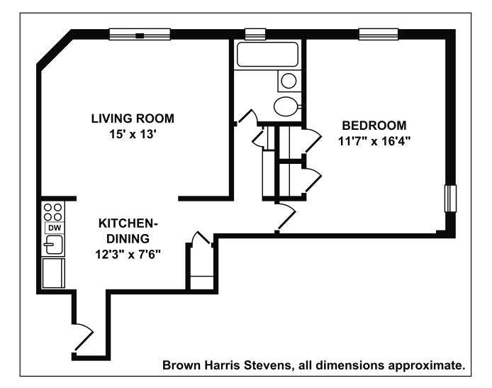 360 Clinton Avenue 1M, Brooklyn, New York, $595,000, Web #: 18987719