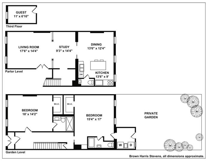9 Lefferts Place 1, Brooklyn, New York, $6,500, Web #: 18988480