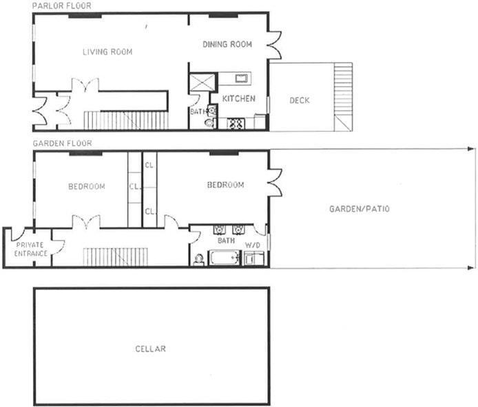 41 Jefferson Avenue 1, Clinton Hill, New York, $4,500, Web #: 18992507