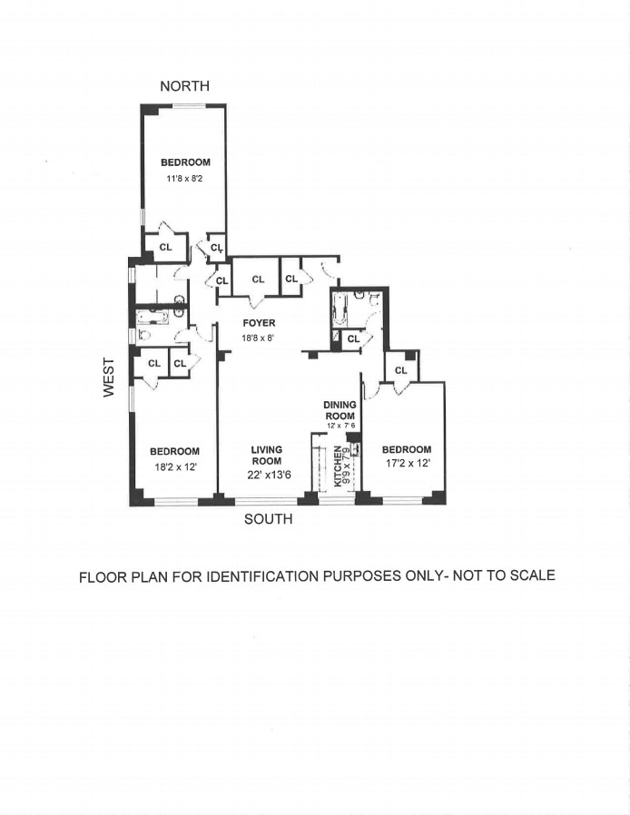181 East 73rd Street 11F, Upper East Side, NYC, $1,725,000, Web #: 18996867