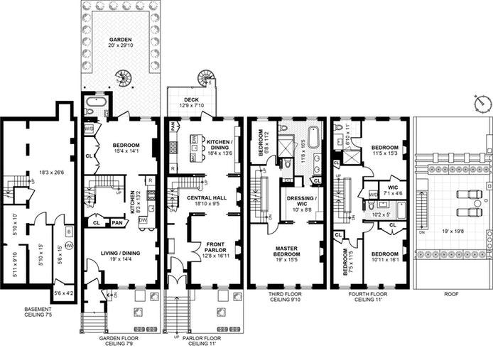 5 Arlington Place, Brooklyn, New York, $3,600,000, Web #: 19024015