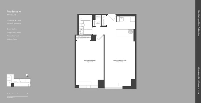 225 Rector Place 5M, Battery Park City, NYC, $3,700, Web #: 19045393