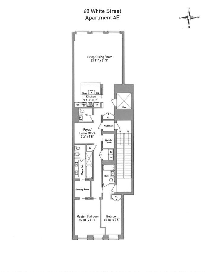 60 White Street 4E, Tribeca/SOHO/Chinatown, NYC, $13,000, Web #: 19046875