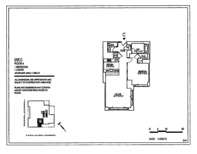 305 East 51st Street 6C, Midtown East, NYC, $5,800, Web #: 19050487
