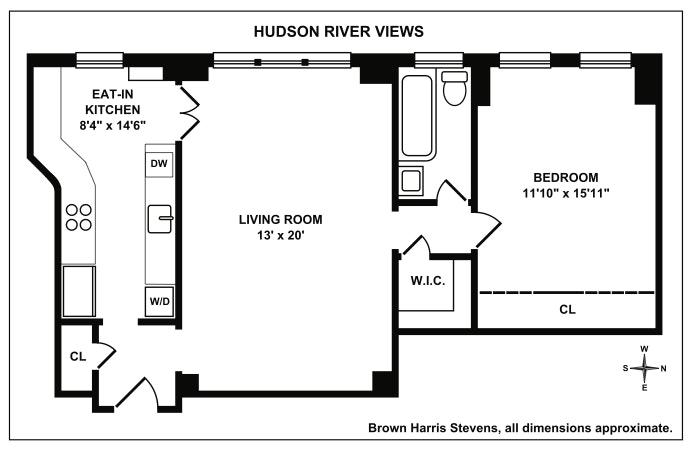 33 Riverside Drive 10B, Upper West Side, NYC, $890,000, Web #: 19068204