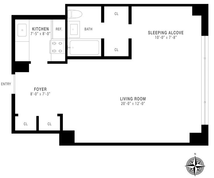 167 East 67th Street 6D, Upper East Side, NYC, $505,000, Web #: 19160484