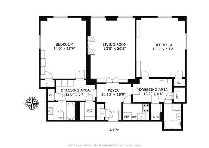 825 Fifth Avenue 14D, Upper East Side, NYC, $1,700,000, Web #: 19198853
