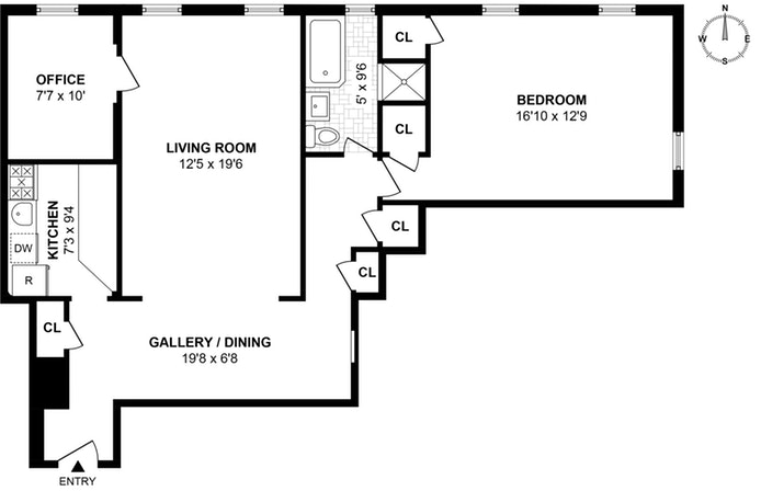 118 -11 84th Avenue 607, Queens, New York, $335,000, Web #: 19208474