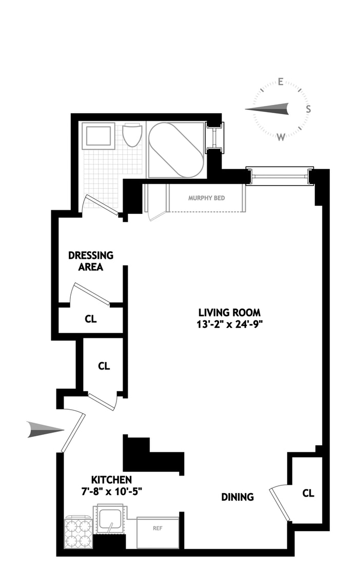 590 West End Avenue 12G, Upper West Side, NYC, $440,000, Web #: 19245947