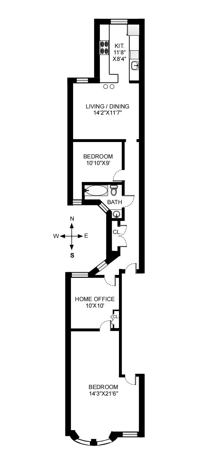 523 8th Street 3L, Brooklyn, New York, $975,000, Web #: 19294621