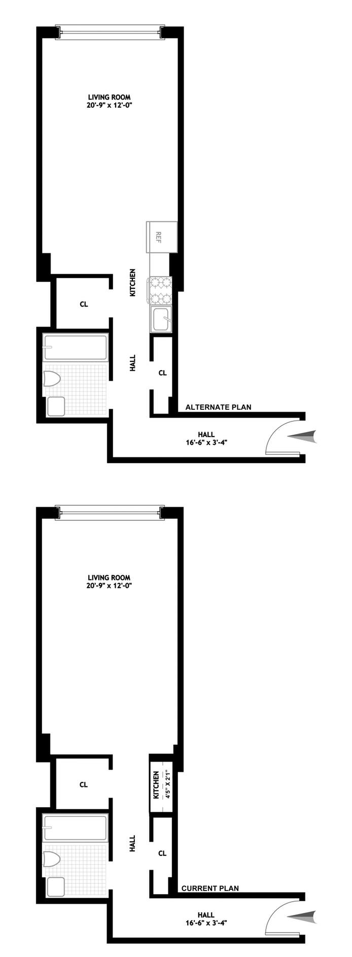 310 Riverside Drive 1422, Upper West Side, NYC, $383,000, Web #: 19326124