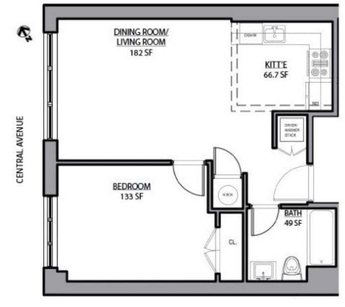 328 Central Avenue 3A, Brooklyn, New York, $2,200, Web #: 19326751