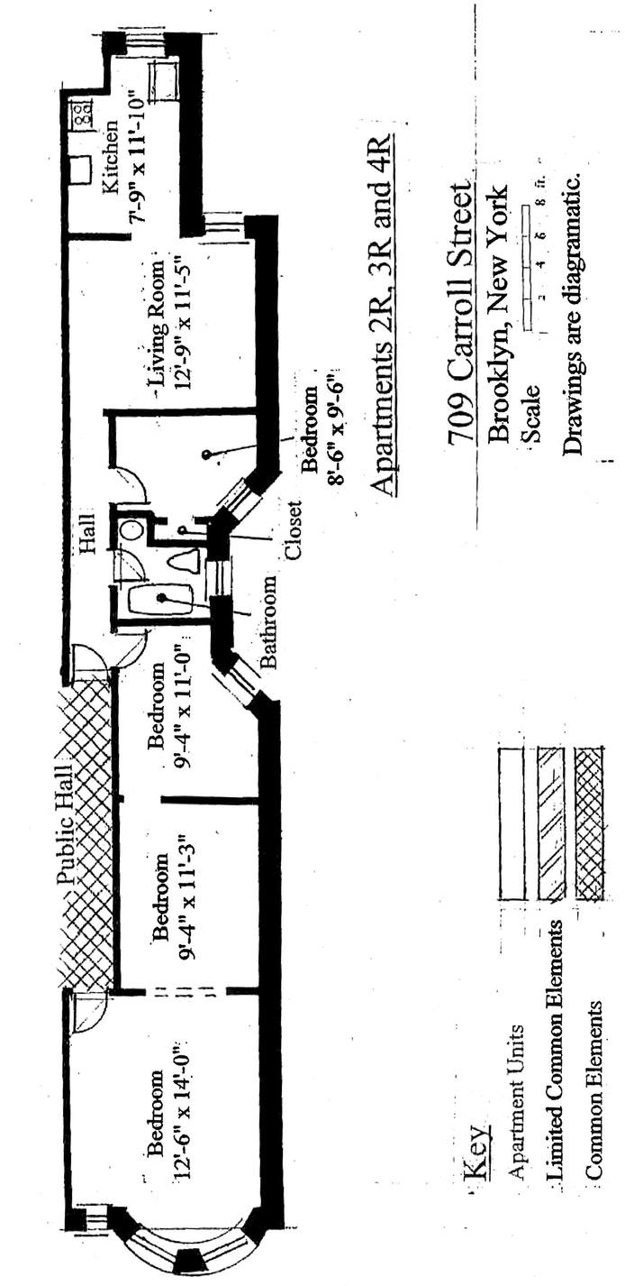 709 Carroll Street 4R, Brooklyn, New York, $825,000, Web #: 19354447