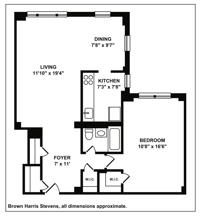 135 Willow Street 612, Brooklyn, New York, $790,000, Web #: 19386313