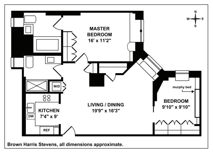 219 West 81st Street 5G, Upper West Side, NYC, $5,800, Web #: 19389744