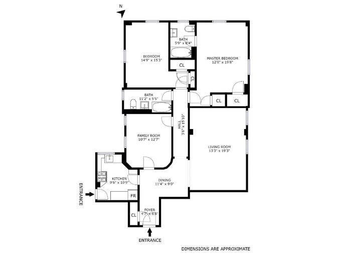 465 West End Avenue 11D, Upper West Side, NYC, $1,650,000, Web #: 19396708