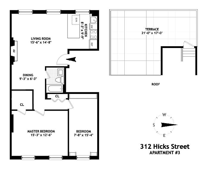 312 Hicks Street 3, Brooklyn, New York, $1,203,820, Web #: 19405302