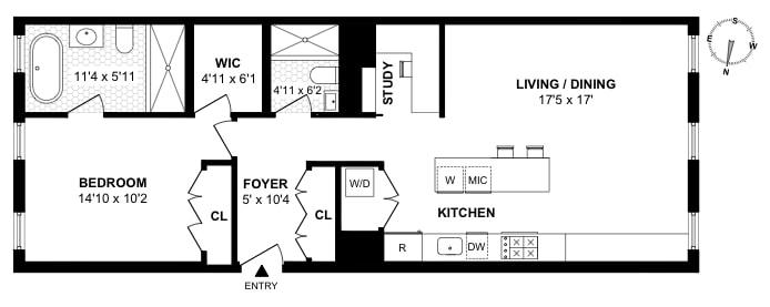 373 Bleecker Street 4Bc, West Village, NYC, $1,550,000, Web #: 19425700