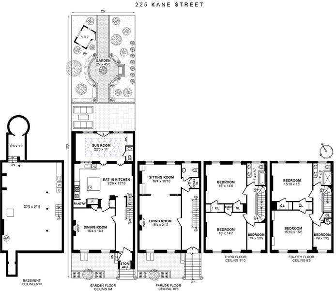 225 Kane Street, Brooklyn, New York, $5,500,000, Web #: 19428381