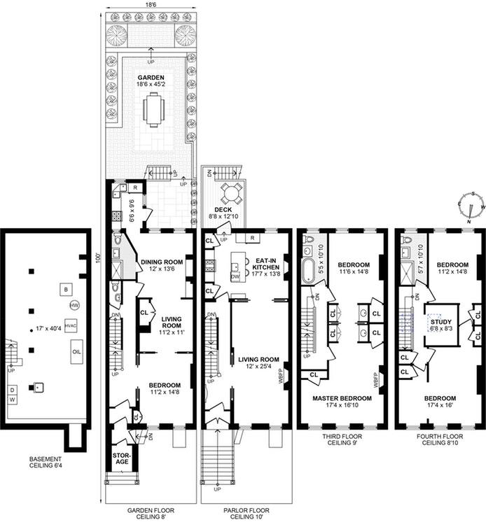 164 Macdonough Street, Brooklyn, New York, $2,625,000, Web #: 19443427