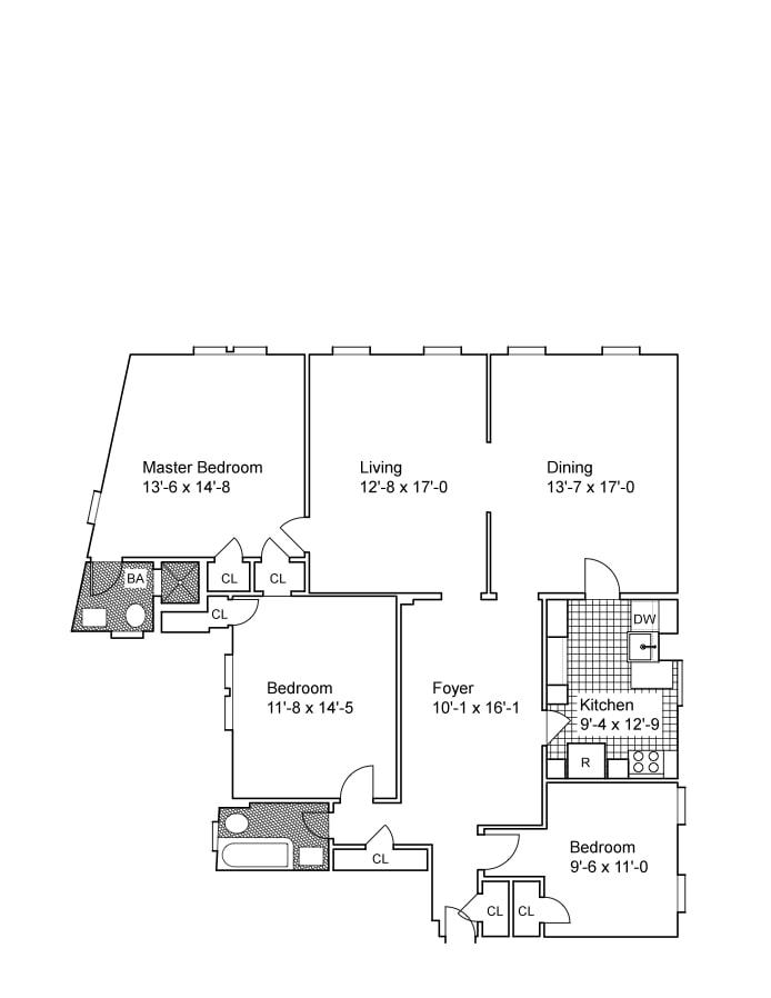 20 Magaw Place 62, Washington Heights, NYC, $4,200, Web #: 19454134