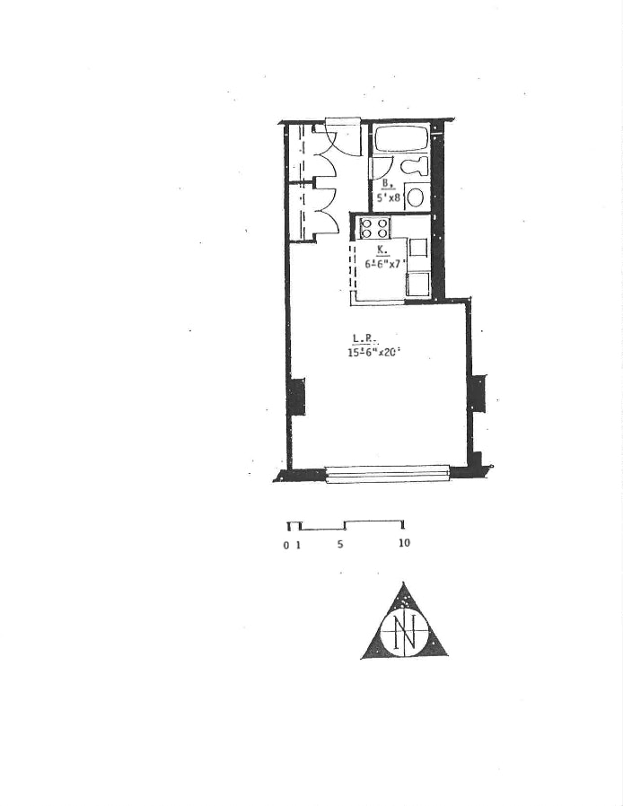 222 West 14th Street 10D, Greenwich Village/Chelsea, NYC, $707,500, Web #: 19454283