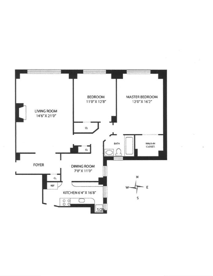 345 East 57th Street 9D, Midtown East, NYC, $795,000, Web #: 19455980