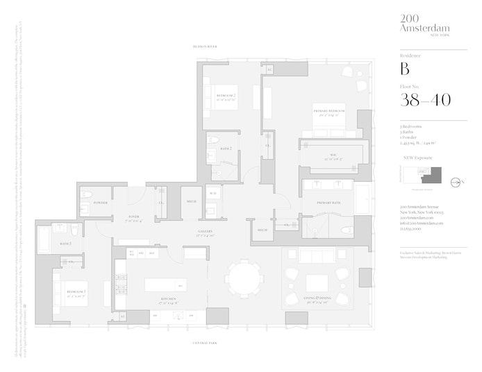 200 Amsterdam Avenue 38B, Upper West Side, NYC, $9,400,000, Web #: 19483478