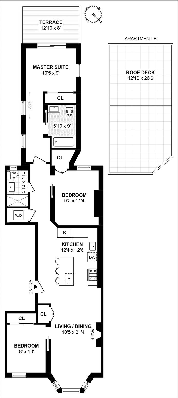 434 Prospect Place B, Brooklyn, New York, $1,285,000, Web #: 19483512