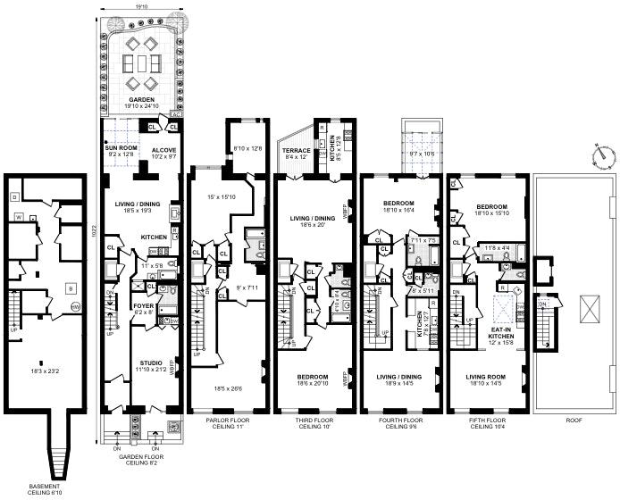7 East 81st Street, Upper East Side, NYC, $9,900,000, Web #: 19488078